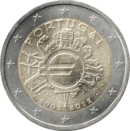 € 2 commemorative coin Portugal 2012 TYE.png
