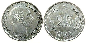 25 øre Dänemark Wikipedia