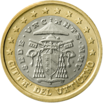 1 Euro Vatican 2nd series