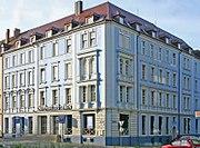 Verwaltungssitz des Universellen Lebens am Haugerring in Würzburg