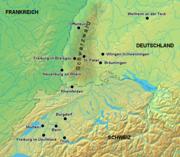 Zähringerstädte in Deutschland und der Schweiz