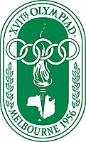 Logo der Olympischen Sommerspiele 1956
