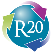 Logo von R20 Regions of Climate Action