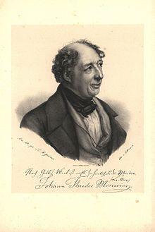Johann Theodor Mosewius (Quelle: Wikimedia)
