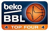 Logo des Beko BBL TOP FOUR