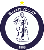 Iraklis Volleyball logo.png