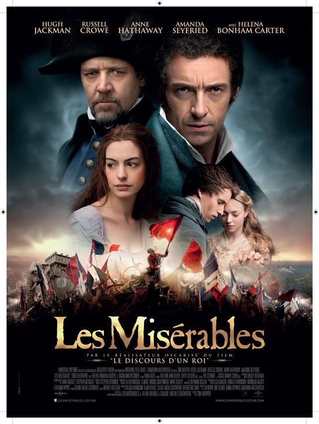 LES MISERABLES SHOWING AT LIBRARY THIS SATURDAY | Red Wing Public ...