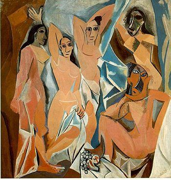 Πάμπλο Πικάσσο, Οι δεσποινίδες της Αβινιόν (1907)