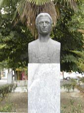 Προτομή του Μ. Αλεξάνδρου στην Κατερίνη