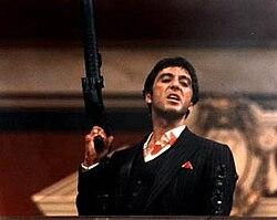 Ο Αλ Πατσίνο στην ταινία Scarface.