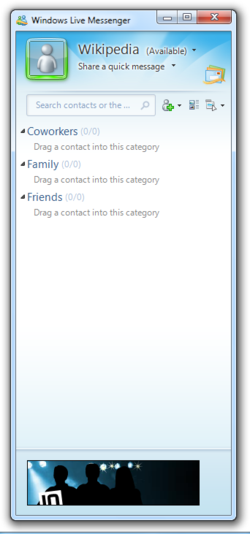 Windows Live Messenger Screenshot.png