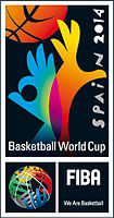 Official logo of the 2014 FIBA Basketball World Cup
