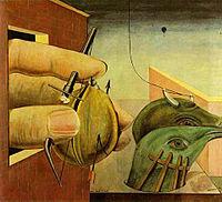 Οιδίπους, ελαιογραφία (1922).