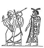 Σταυροί στην αιγυπτιακή ενδυμασία
