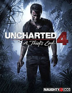 Uncharted 4 A Thief's End, αφίσα.jpg