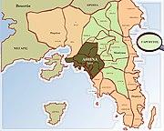 Διοικητικός Χάρτης Αθήνας