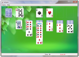 Solitaire on Windows 7.png