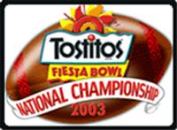 2003 Fiesta Bowl annual NCAA football game