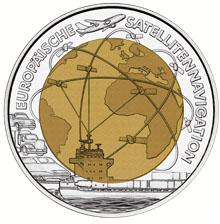European Satellite Navigation commemorative coin