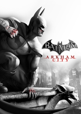 Official poster of Batman: Arkham City game launched in 2011 by Rocksteady Studios.