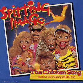 The Chicken Song by Spitting Image. Image from http://en.wikipedia.org/wiki/The_Chicken_Song