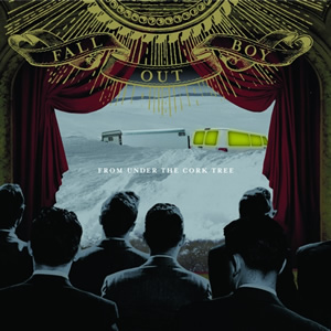 Image result for fall out boy from under the cork tree vinyl art