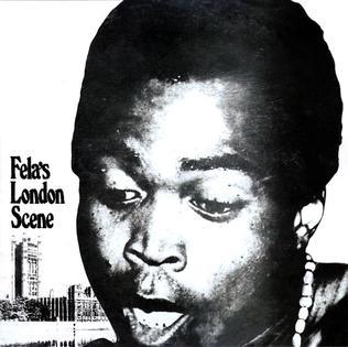 <i>Felas London Scene</i> 1971 studio album by Fela Ransome-Kuti and his Africa 70