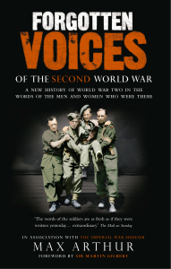 Forgotten voices of the second world war