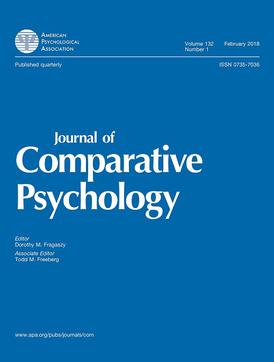 Journal Of Comparative Psychology Wikipedia
