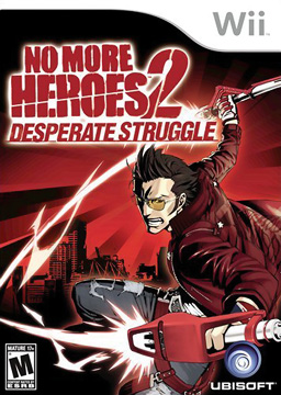 No More Heroes 2: Desperate Struggle French and Spanish Nintendo Wii