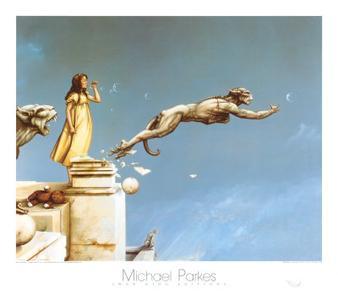 Michael Parkes - Page 2 Parkes-Gargoyles-Poster