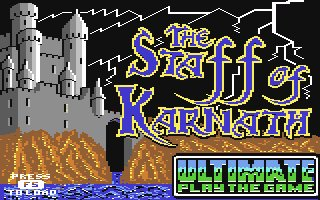 <i>The Staff of Karnath</i> 1984 video game