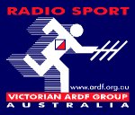 The Victorian ARDF Group, a regional ARDF organization in Australia, uses the two-word form of the term radio sport in its logo.