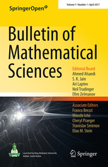 <i>Bulletin of Mathematical Sciences</i> Academic journal