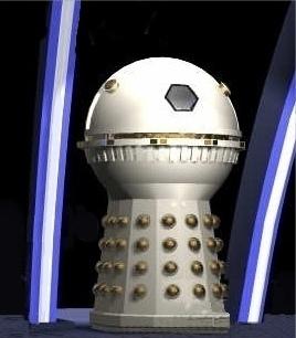 Dr Who Dalek Birthday Cake