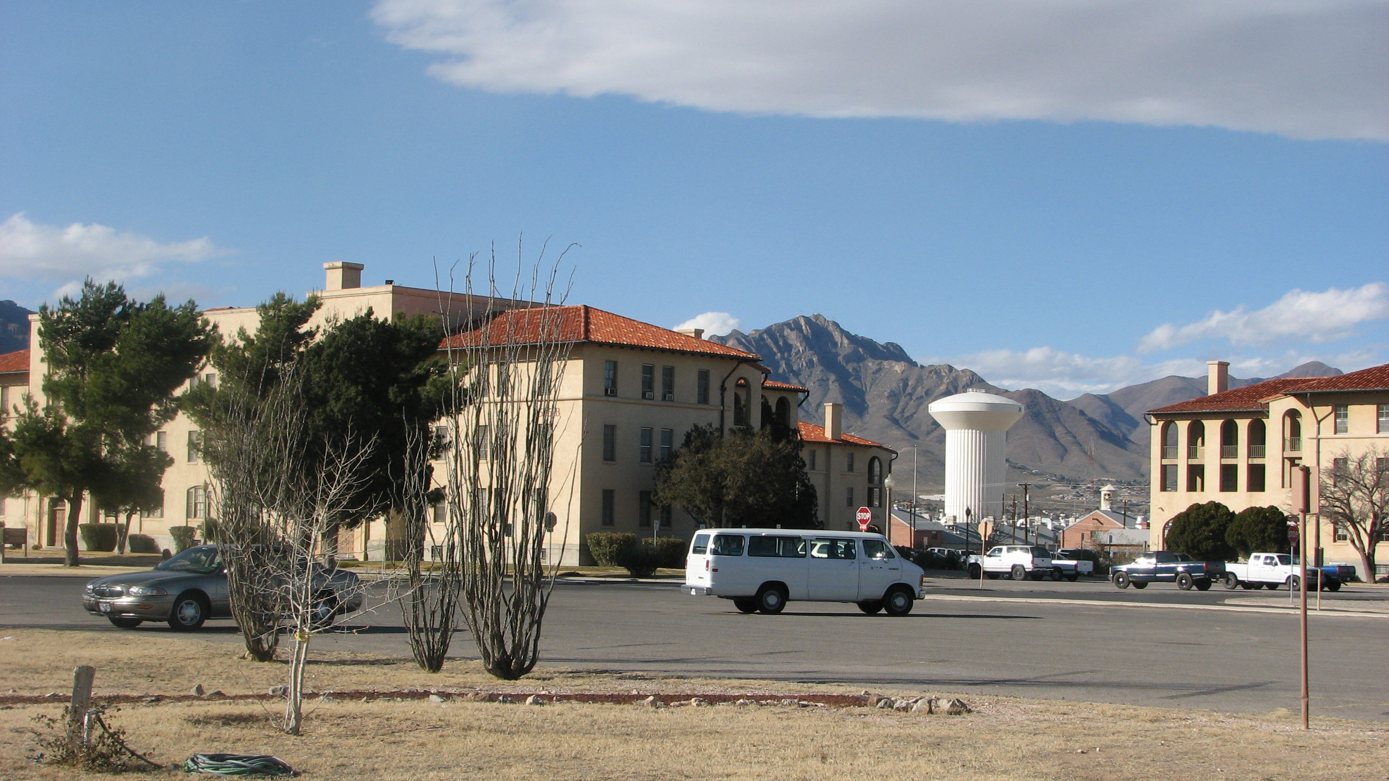 fort bliss building 500 area of fort bliss today