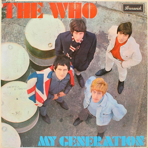 <i>My Generation</i> (album) 1965 studio album by The Who