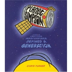 <i>Planet Simpson</i> book by Chris Turner