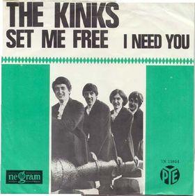 Set Me Free (The Kinks song) 1965 single by the Kinks
