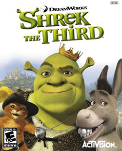 <i>Shrek the Third</i> (video game) 2007 video game