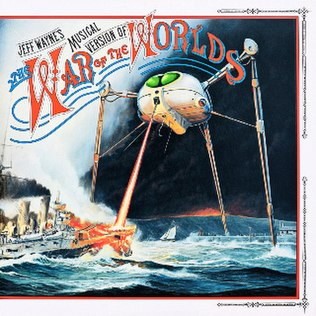 Weff Wayne's musical version of the War of the Worlds