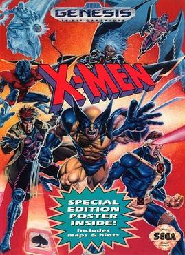 X Men (1993 Sega video game cover) stock vector : Operator video camera men with film background.