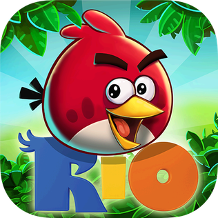Picture of a game: Angry Birds Rio