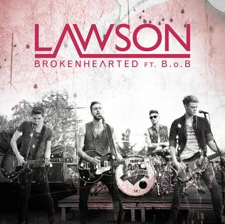 Lawson featuring B.o.B — Brokenhearted (studio acapella)