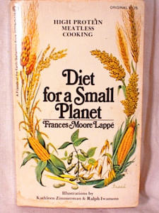 <i>Diet for a Small Planet</i> book by Frances Moore Lappé
