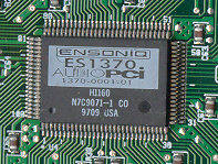 ENSONIQ CORPORATION PCI ENSONIQ ES1371 DRIVER FOR MAC DOWNLOAD