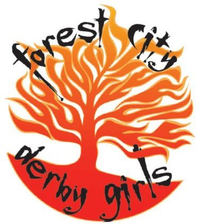 Image result for forest city roller girls