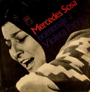 <i>Homenaje a Violeta Parra</i> 1971 studio album by Mercedes Sosa