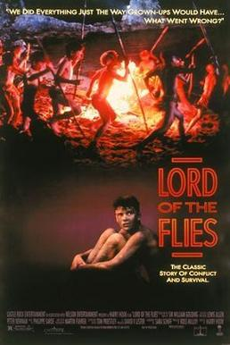 A comparison between the movie and book of lord of the flies by william golding