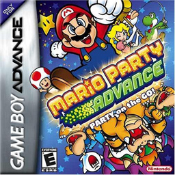 โหลดรอม Mario Party Advance .gba